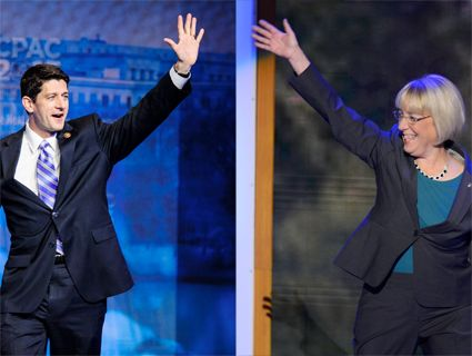 Paul Ryan and Patty Murray
