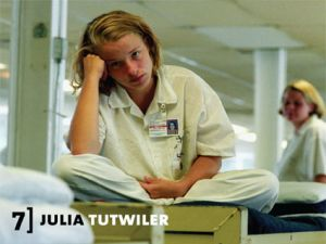A young woman inmate at Julia Tutwiler prison