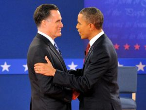 barack obama mitt romney presidential debate