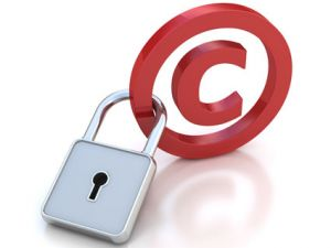 copyright lock