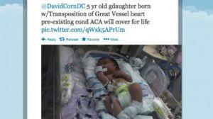 David Corn Twitter Obamacare