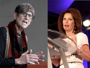 DeLauro and Bachmann