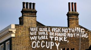Occupy Wall Street grafitti