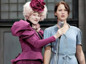 elizabeth banks jennifer lawrence the hunger games