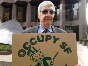 Warren Langley at Occupy SF