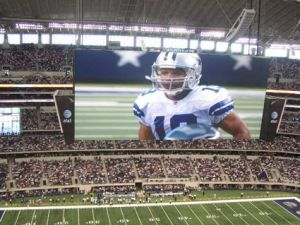 Cowboys stadium screen