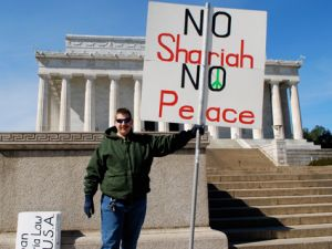 No shariah no peace