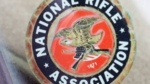 The emblem of the National Rifle Association.