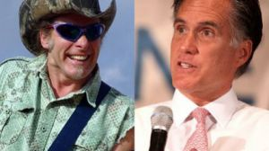 ted nugent mitt romney