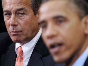 Obama and Boehner