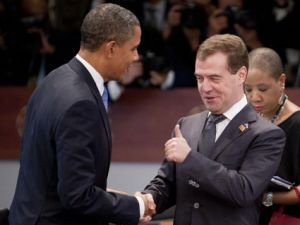 barack obama dmitry medvedev