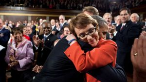 Obama and Gabby Giffords
