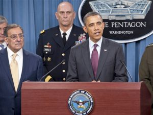 Obama Pentagon Briefing