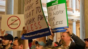 right to work for less signs