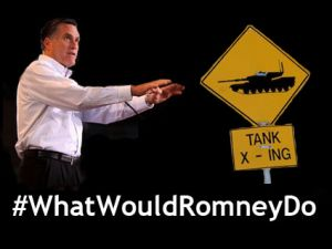 Romney tank