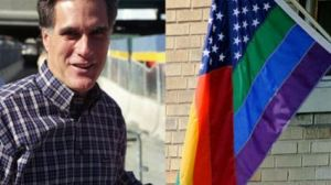 mitt romney rainbow flag