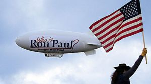 ron paul blimp flag