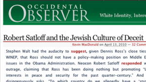 jewish culture of deceit