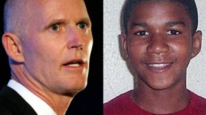 Rick Scott and Trayvon Martin