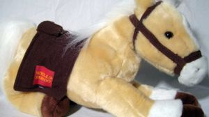 Wells Fargo horse toy