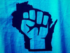 Wisconsin fist logo