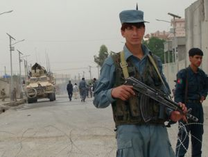 afghan guards