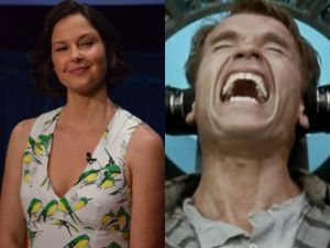 Ashley Judd and Arnold Schwarzenegger