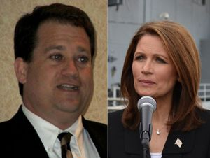 Lee Bright and Michele Bachmann