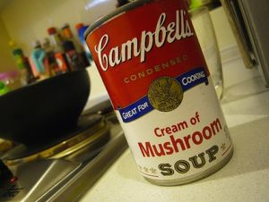 campells soup can