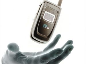 cell phone hand