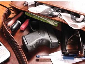gun in purse