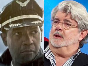 denzel washington flight george lucas star wars
