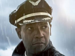 denzel washington flight poster
