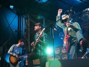 Dr. Dog on Outside Lands&#039; solar stage.
