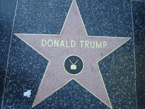 Donald Trump Hollywood Walk of Fame star