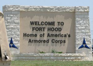 fort hood sign