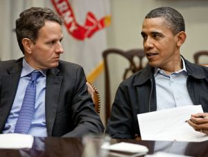geithner and obama
