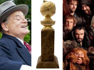 bill murray golden globes the hobbit