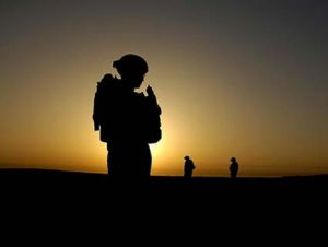 soldier in iraq