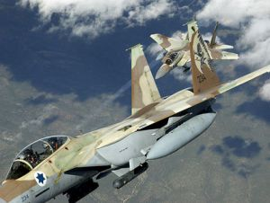 f-15i ra'am fighters israeli air force