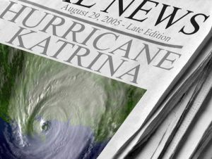 hurricane katrina newspaper