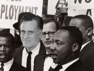 Mitt Romney and Dr. King