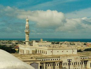 Isbaheysiga Mosque in Mogadishu, Somalia.