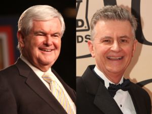 Newt Gingrich and Fred Grandy