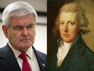 Newt Gingrich and Pitt the Younger