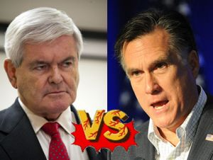 Newt vs. Mitt