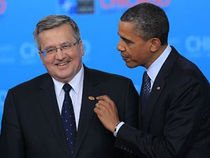 President Obama and President Bronislaw Komorowski of Poland in May 2012.