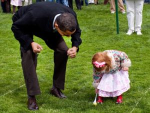 obama with small child