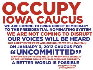 Occupy Iowa Caucus