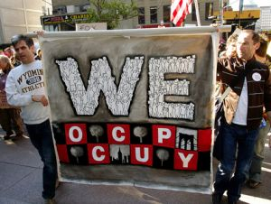 #OccupyWallStreet sign